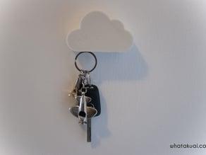 Cloud shaped Magnetic Key holder by whatakuai