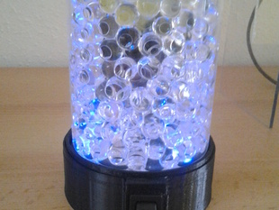 LED glass light 80mm