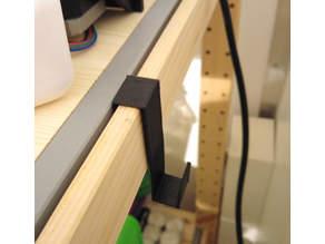 Hook for Ivar shelf (Ikea)