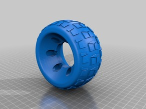 My first RC tire attempt