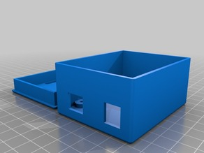 Arduino UNO case with lid.