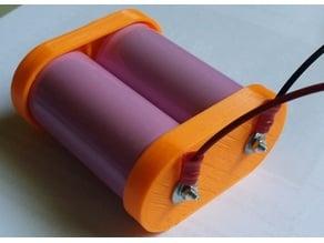 Dual battery holder
