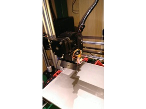 BLtouch mount Prusa MK3S extruder