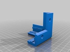 Corner piece for 20x20 aluminium profile