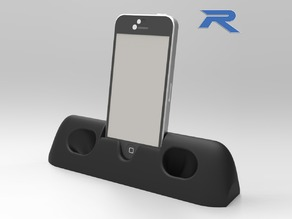 iPhone 5 Amplifier Dock