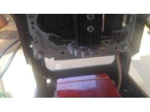 Neje laser engraver focus knob