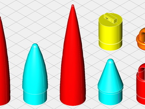 Centuri 7 Series Plastic Nose Cones