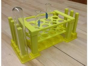 Test Tube Holder and Drying Rack