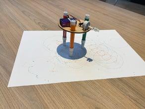 Lasercut Drawing Robot Base