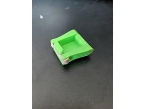 Rubber Band Latch Platform Test Piece