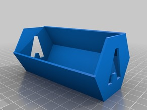 Tray A - Hex Tile Holders for Suburbia Board Game