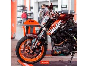 KTM/Duke 200 (2011-15) MX Mask holder