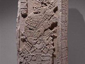 Stela, A.D. 702
