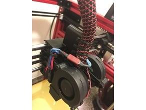 Hypercube Evolution dual radial fan mount