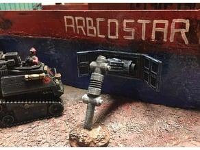 Arbco Star Freighter Cobra Island Mods