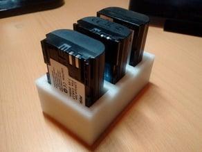 LP-E6 battery holder