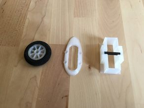 HobbyKing Mini Skywalker Parts: Landing Wheel