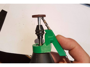 Drill bit sharpener with true relief angle V2