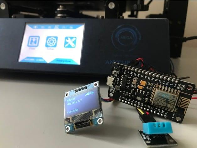 Connect ESP8266 / ESP12e to Anycubic i3 mega - ESP3D by
