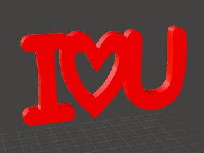 Valentine Gift - I love U