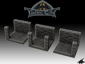 Dungeon Post Tiles (JOIN our PATREON)