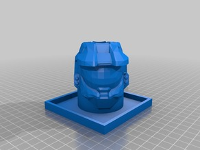 Halo Masterchief Flower Pot
