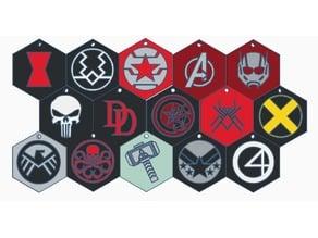 Marvel Keychains