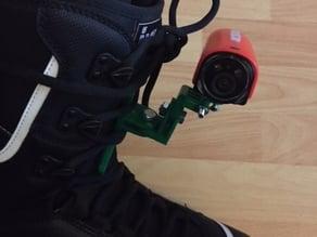 Camera Mount for Snowboardboot
