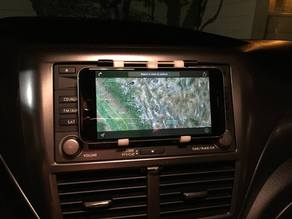 iPhone 6 Plus dashboard mount with quick-release