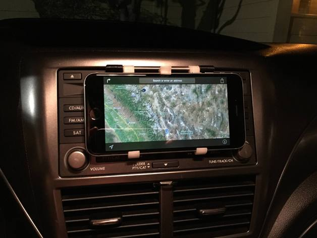 Iphone 6 Plus Dashboard Mount With Quick Release By