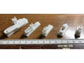 Benchy Battleship Game Fleet