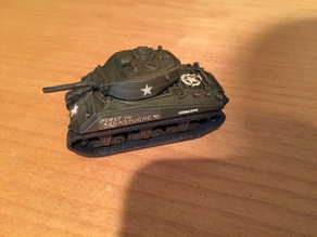 "M4A3E2 ""Jumbo"" Sherman Tank"