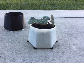 Plant Pot With Optional Stand
