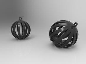 Round Pendant / Keychain