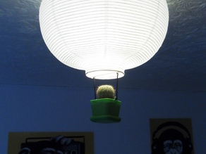 Plant pot for your balloon lamp