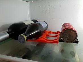 Flexible fridge Bottle Holder / Flexibler Flaschenhalter Kühlschrank