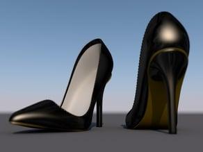 Woman Shoe V3.1 - Pigalle