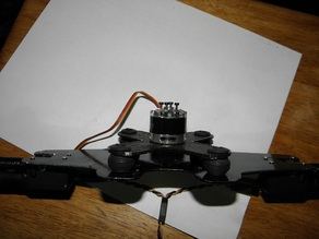 2 to 3 Axis Brushless Gimbal Conversion Motor Plate