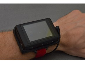 D1 FPV DVR wrist mount