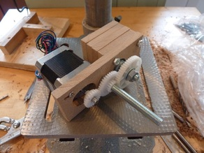 Simple sliced Wade's Geared Extruder
