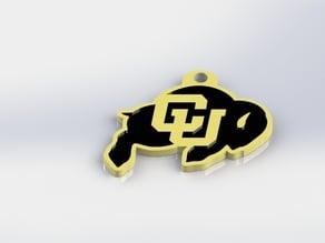 Colorado Buffaloes Keychain