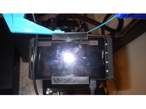Droid X camera mount