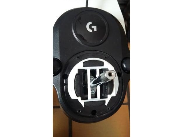 Logitech G27 H-Shifter Stiffener by dimooz