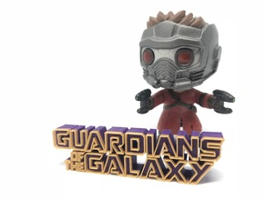 Guardians of the Galaxy Logo Outlined