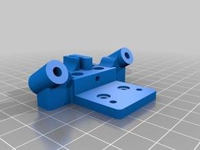 KOSSEL Cartiage / Carrier with adjustable Belt design