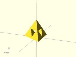 Recursive Sierpin?ski Tetrahedron