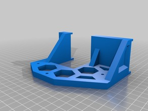 ANET A8 Front and Rear Braces with Holes for Mounting Printer to Bench/Table