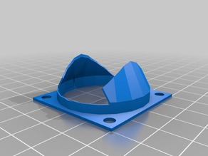 Anycubic Kossel Hotend Fan Duct
