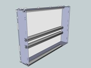 Eurorack Lasercut Case 104HP 8U 83mm
