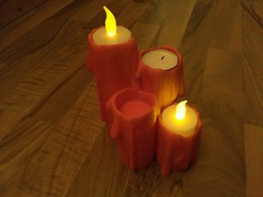 Advent Candles for LED Tea-Lights